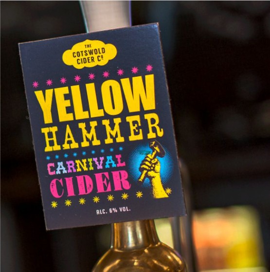 Yellow Hammer on tap