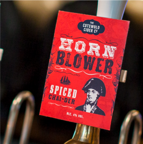 HornBlower on tap