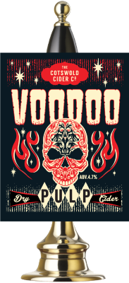 Voodoo Pulp on tap