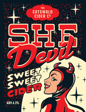 She Devil Apple-Sweet 4.3%
