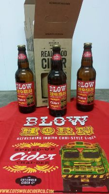 BlowHorn 3 x bottle gift box and T-shirt
