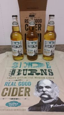 SideBurns 3 x bottle gift box and T-shirt