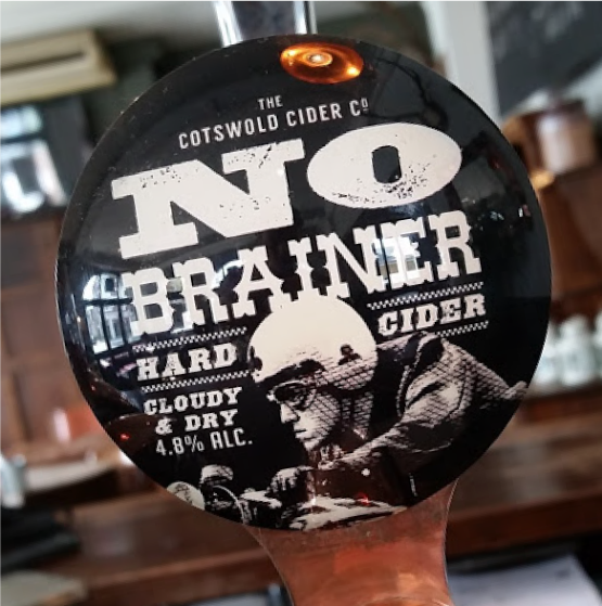 NoBrainer Sparkling on tap