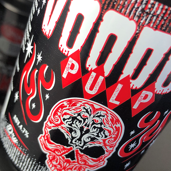 Voodoo Pulp label