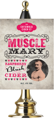 Muscle Mary Raspberry Cider 4%